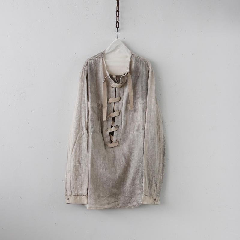 MAVRANYMA  /  Henley gauze-shirtシャツ / Mav-19005