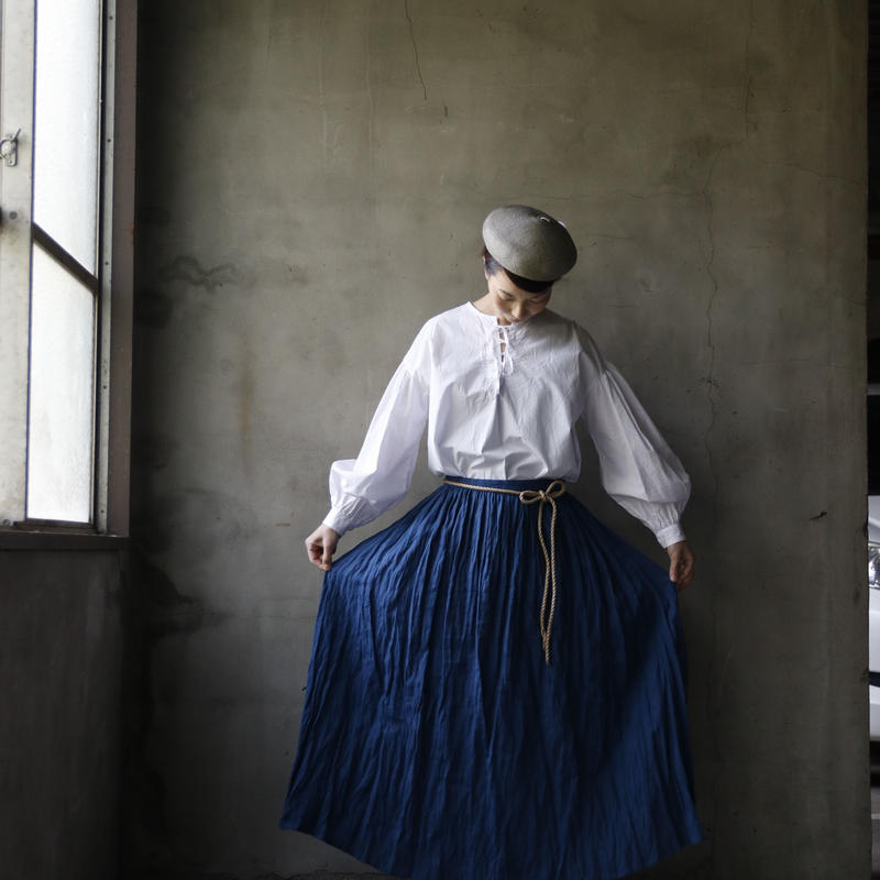 cavane キャヴァネ / Gathered skirtギャザースカート /  ca-18034