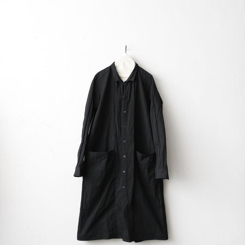 KLASICA クラシカ /Long classic shirts unisex ロングコート/ kl-18001