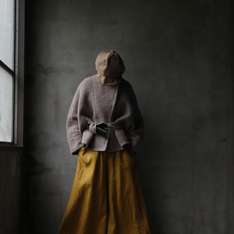 NATIVE VILLAGE ネイティブヴィレッジ / Aries♢ Wide sleeve short coatワイドスリーブコート/  na-18006