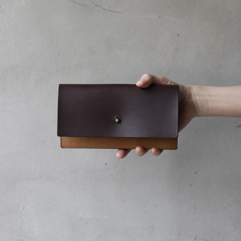 formeフォルメ / Liscio leather long wallet 長財布 / fo-19005