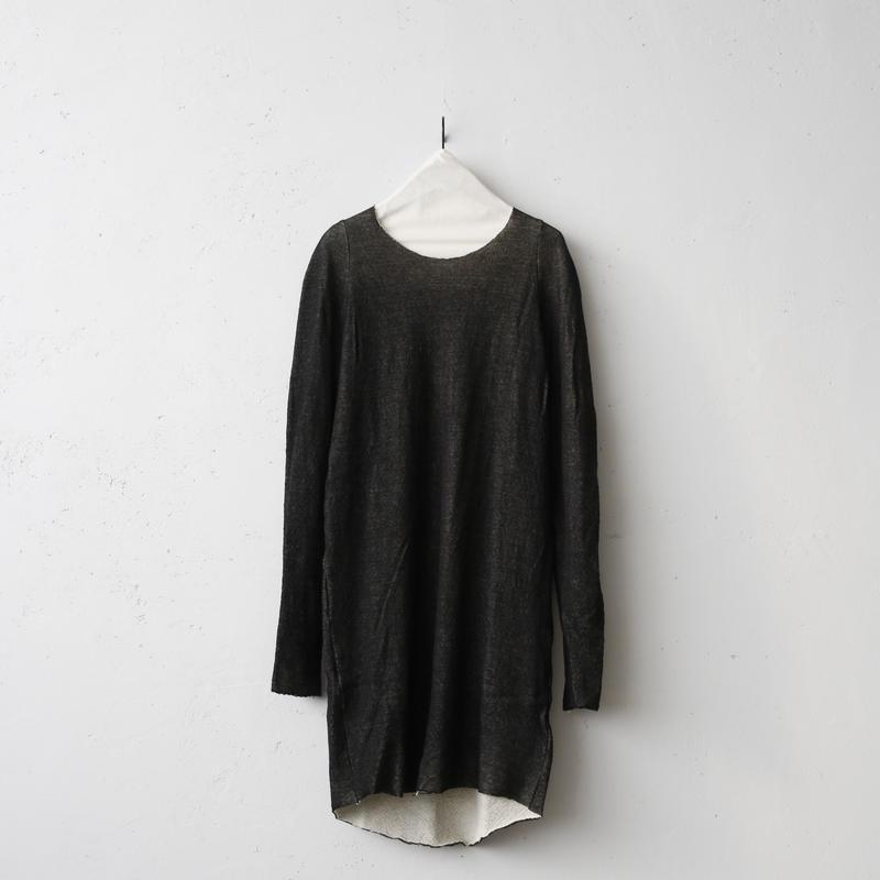 golem ゴレム / Wool Long sleeveダブルフェイスウールロングスリーブ / go-17009