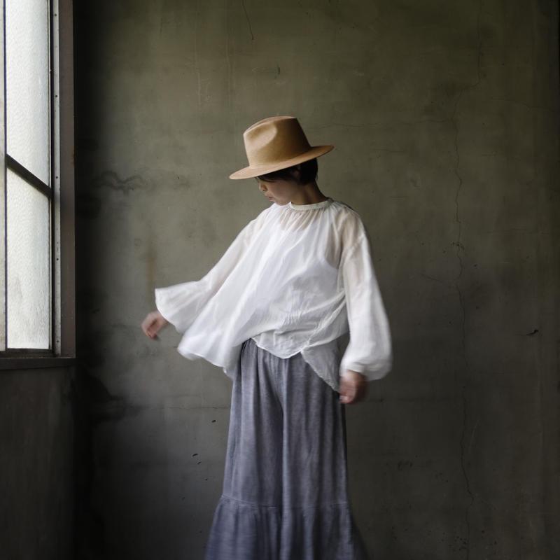 cavane キャヴァネ / Smock blouseスモックブラウス / ca-19059