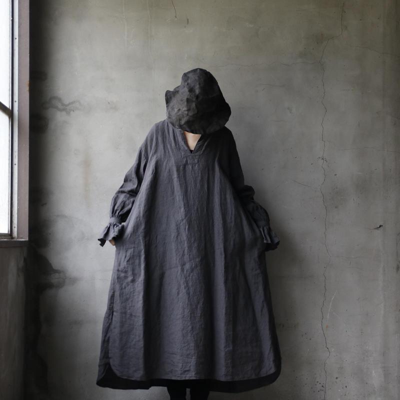 cavane キャヴァネ /  Flare sleeve dressワンピース / ca-19037