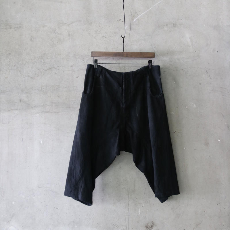 golem ゴレム / Cotton low trousers shortパンツ / go-18006