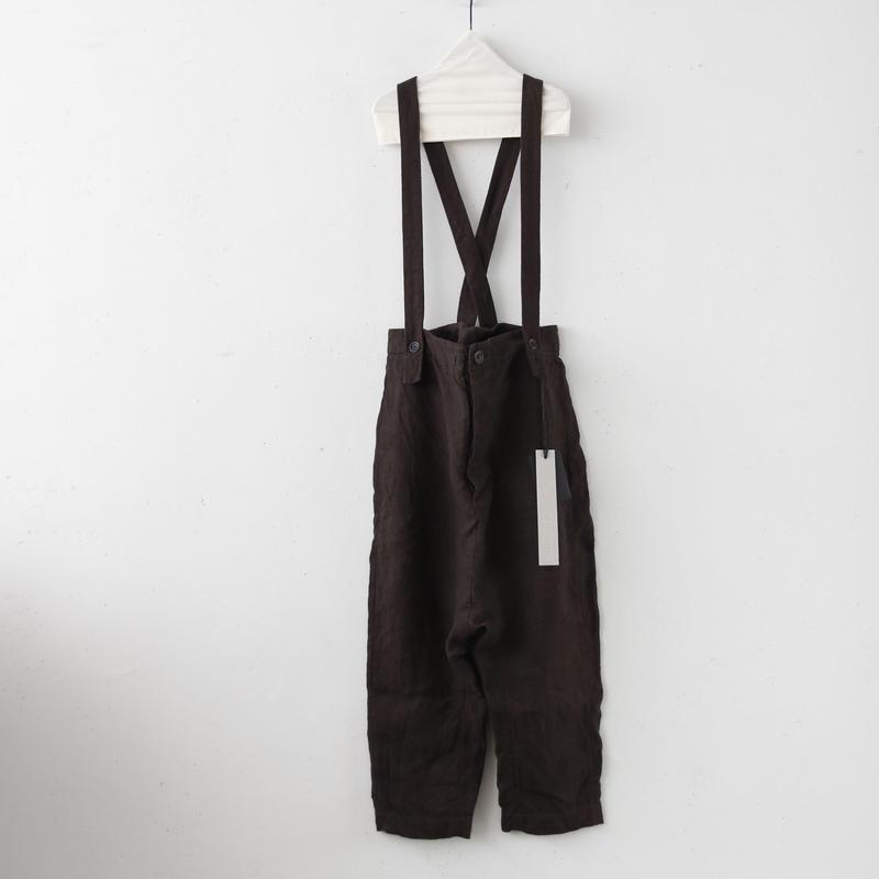 BIEK VERSTAPPEN / Trousers dungareesサスペンダーパンツ / Bie-19002