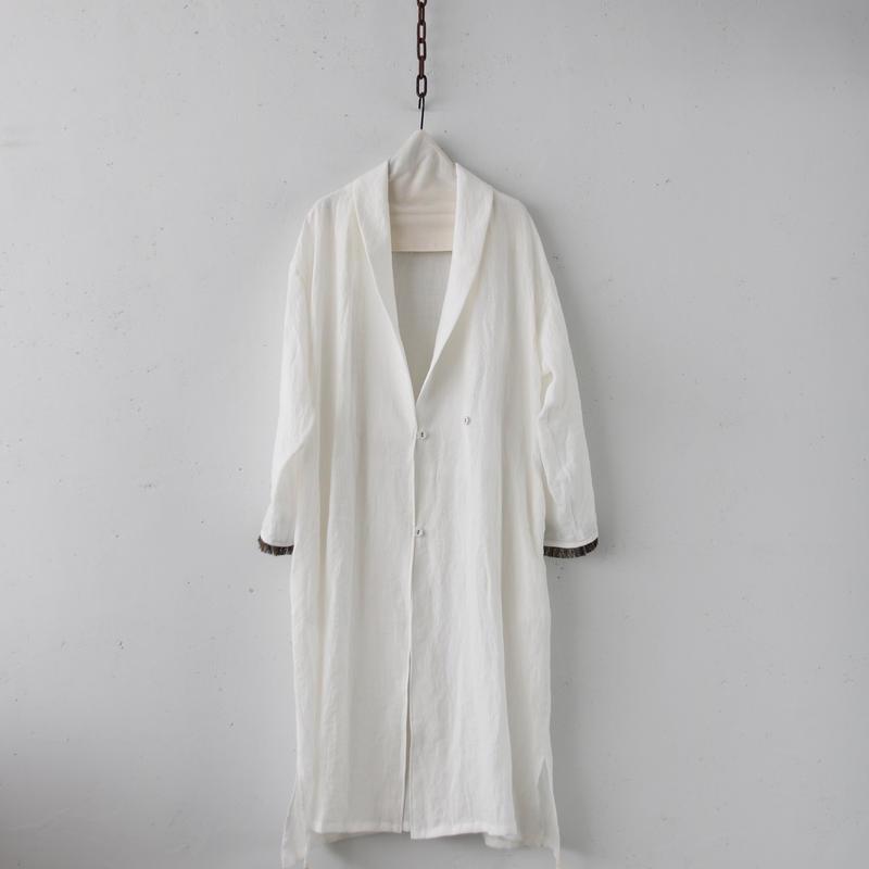 Tabrik タブリク /  Linen robe coatローブコート / ta-19017