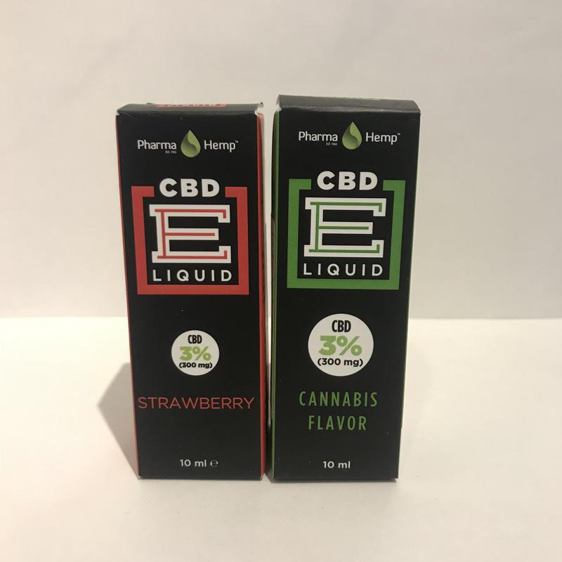 3%CBD配合、ベポライザー用CBDオイルリキッド(カンナビス、ストロベリーフレーバー) CBD300mg