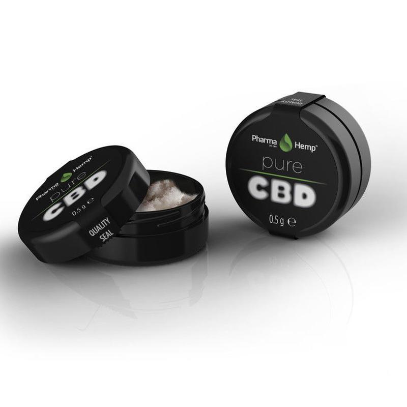 99%クリスタル結晶 PharmaHemp社 正規輸入品 CBD500mg配合