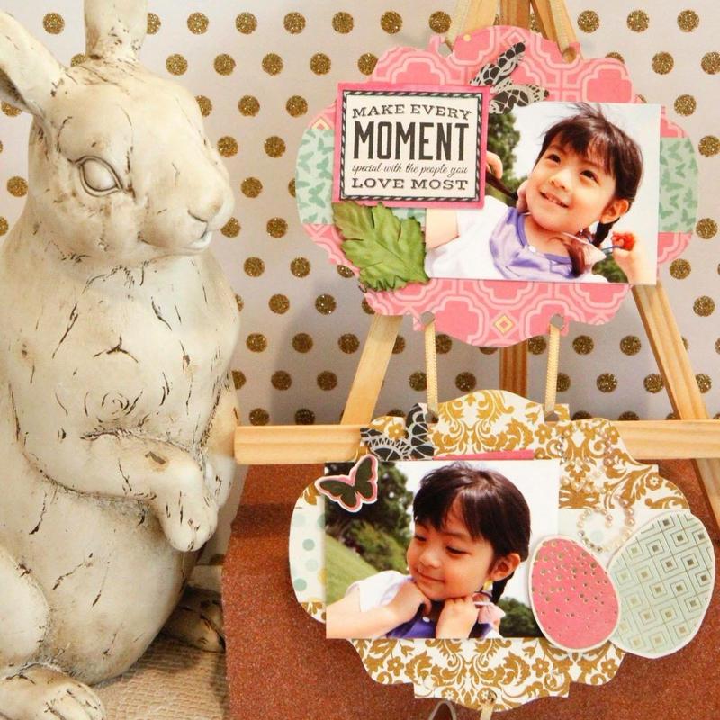 【キット】春の二連壁飾り