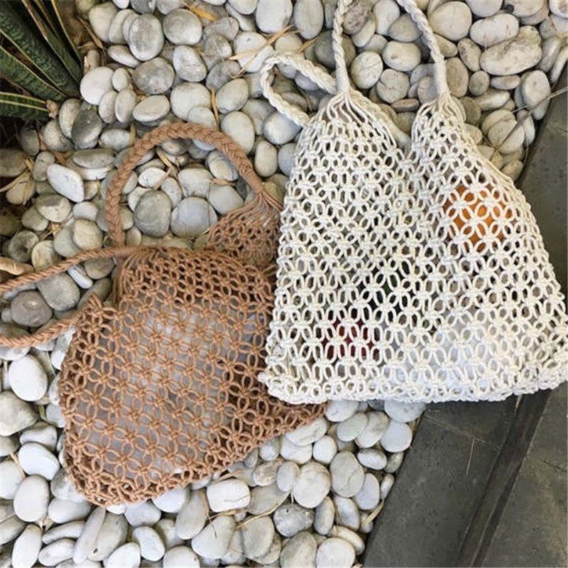 即納/cotton mesh bag