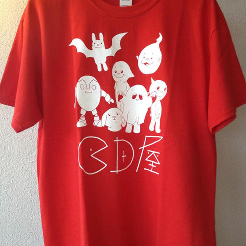 cちゃんズ大集合Tシャツ(赤)