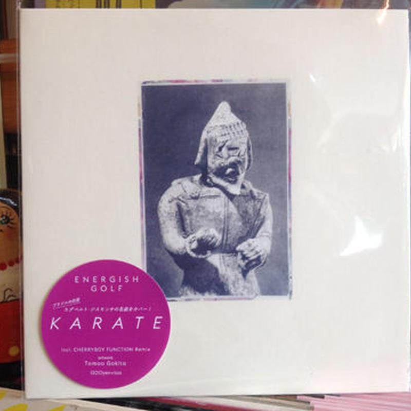 ENERGISH GOLF 『KARATE』(7インチレコード)