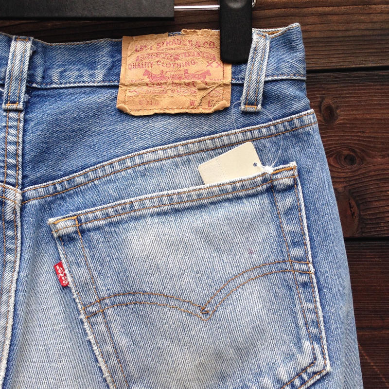 Levi's/リーバイス 501クラッシュ 90年代 Made In USA (USED)
