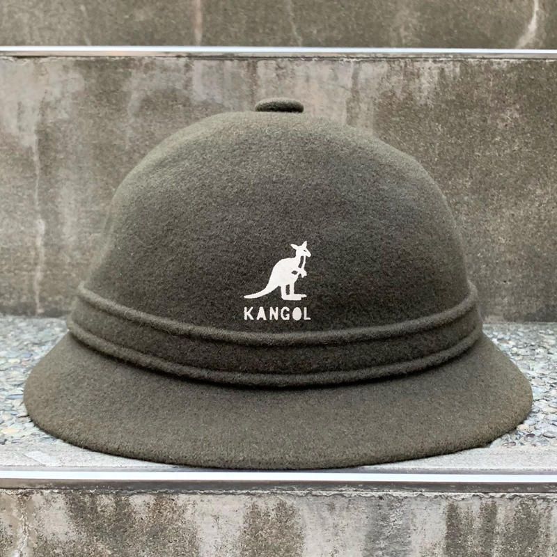 KANGOL/カンゴール PLAIN WOOL GROUSER  ハット Made In ENGLAND (USED美品)