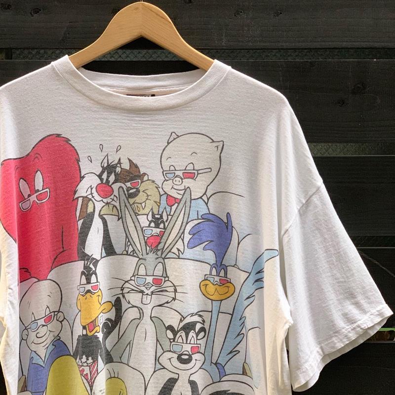 WARNER BROS./ワーナーブラザース 両面プリントTシャツ 1993年 (USED)