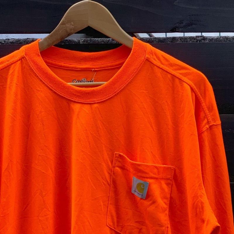 CARHARTT/カーハート 胸ポケットロンT 2000年前後 (USED)