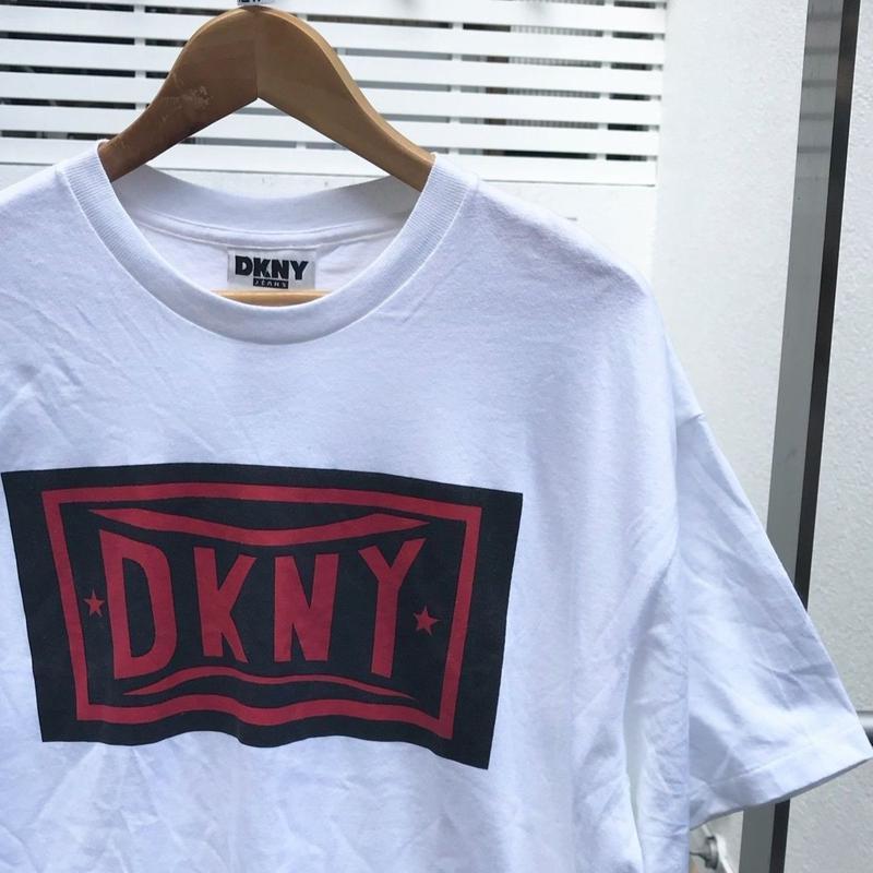 DKNY JEANS/ダナキャランニューヨーク ロゴTシャツ 90年代 Made In USA (DEADSTOCK)
