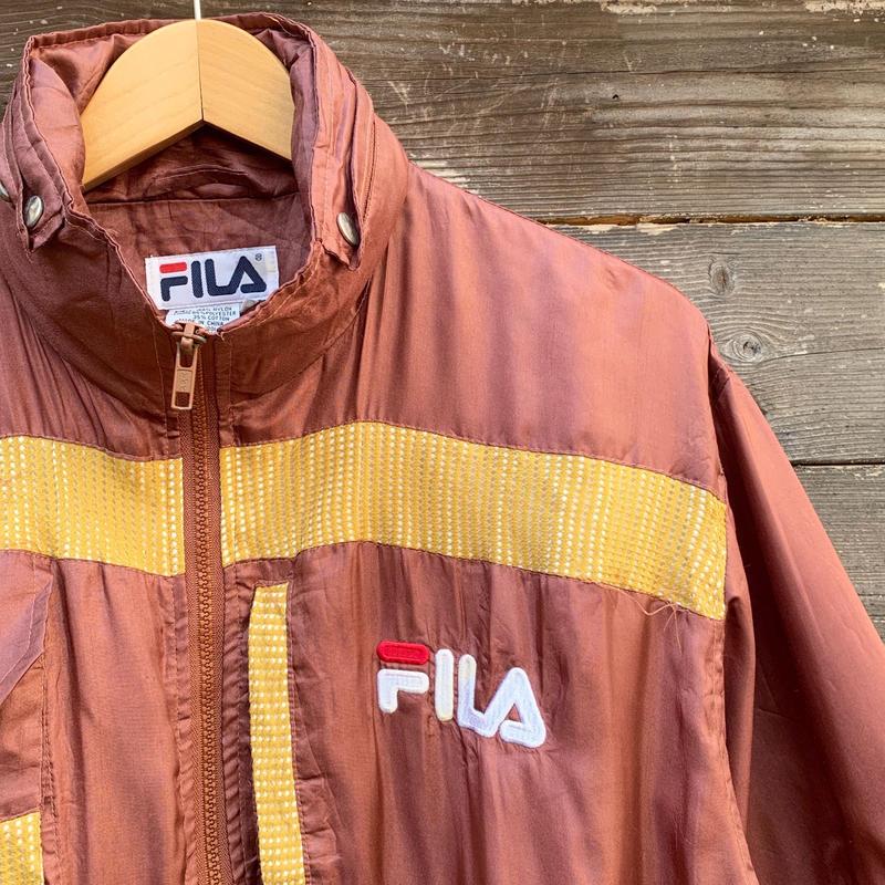 FILA/フィラ 2WAYナイロンジャケット 90年代 (USED)