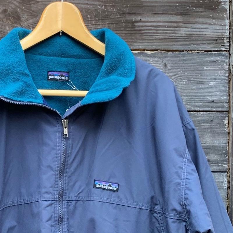 Patagonia/パタゴニア 裏フリースジャケット 90年代 (USED)