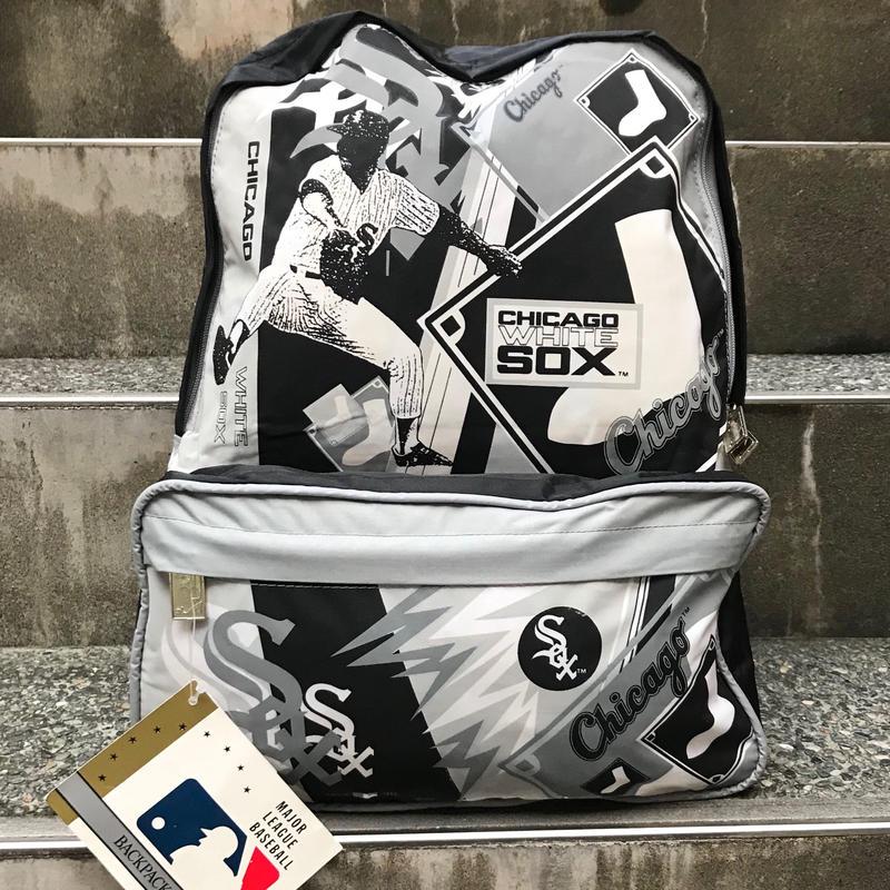 MLB CHICAGO WHITE SOX/シカゴホワイトソックス バックパック 90年代 (DEADSTOCK)