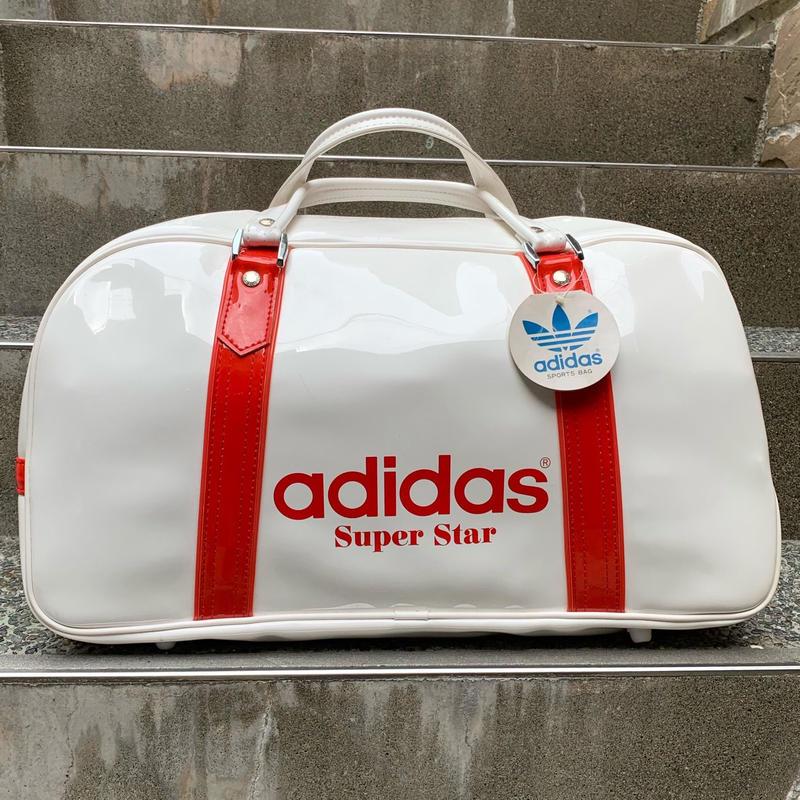 adidas/アディダス SUPERSTARボストンバッグ 90年代 Made In JAPAN (DEADSTOCK)
