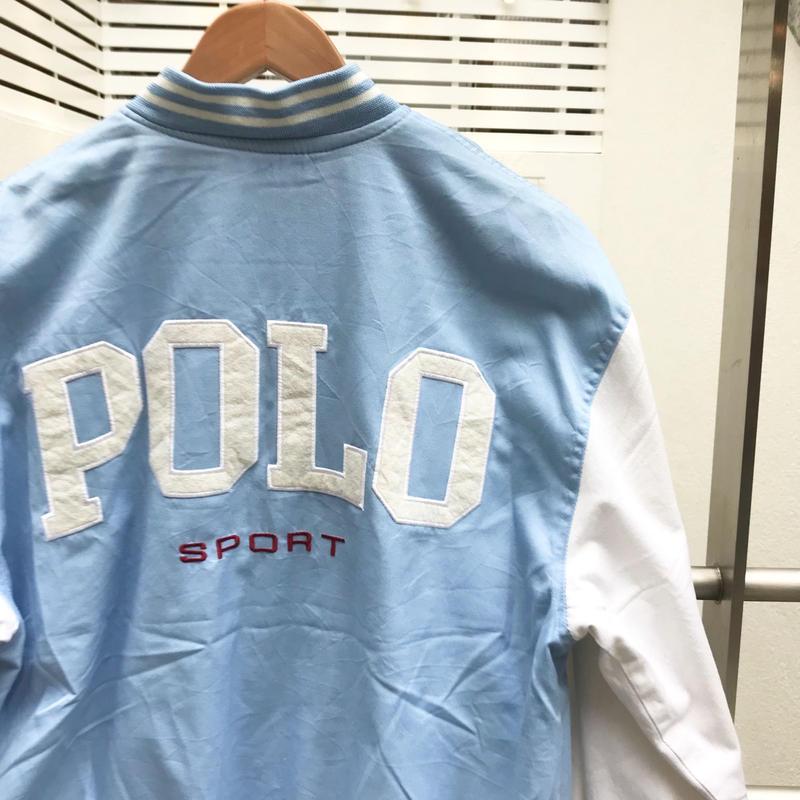 POLOSPORT/ポロスポーツ コットンスタジャン 90年代 Made In USA (USED)