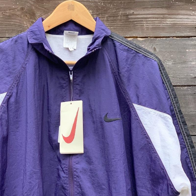 NIKE/ナイキ ナイロンウィンドブレーカージャケット 90年代 (DEADSTOCK)