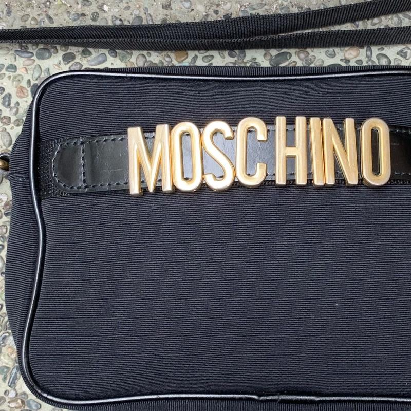 MOSCHINO/モスキーノ スモールショルダーバッグ 90年代 Made In JAPAN (USED)
