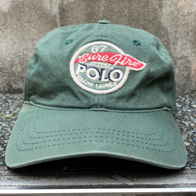 PoloRalphLauren/ポロラルフローレン キャップ 90年代 Made In USA (USED)