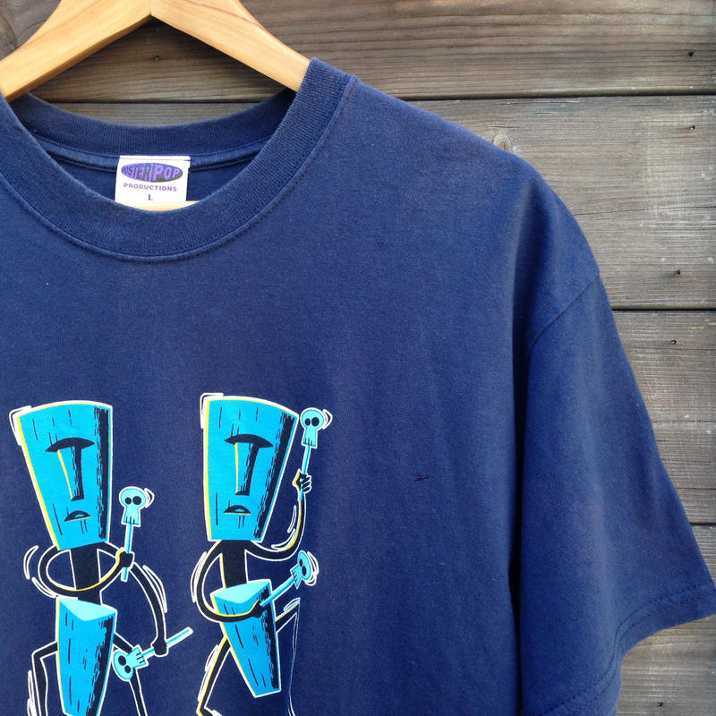 POSTERPOP/ポスターポップ SHAG プリントTシャツ 90年代 Made In USA (USED)