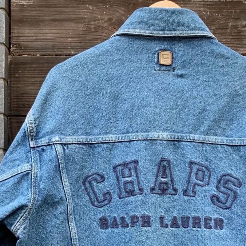 CHAPS RALPH LAUREN/チャップスラルフローレン デニムジャケット 90年代 (USED)