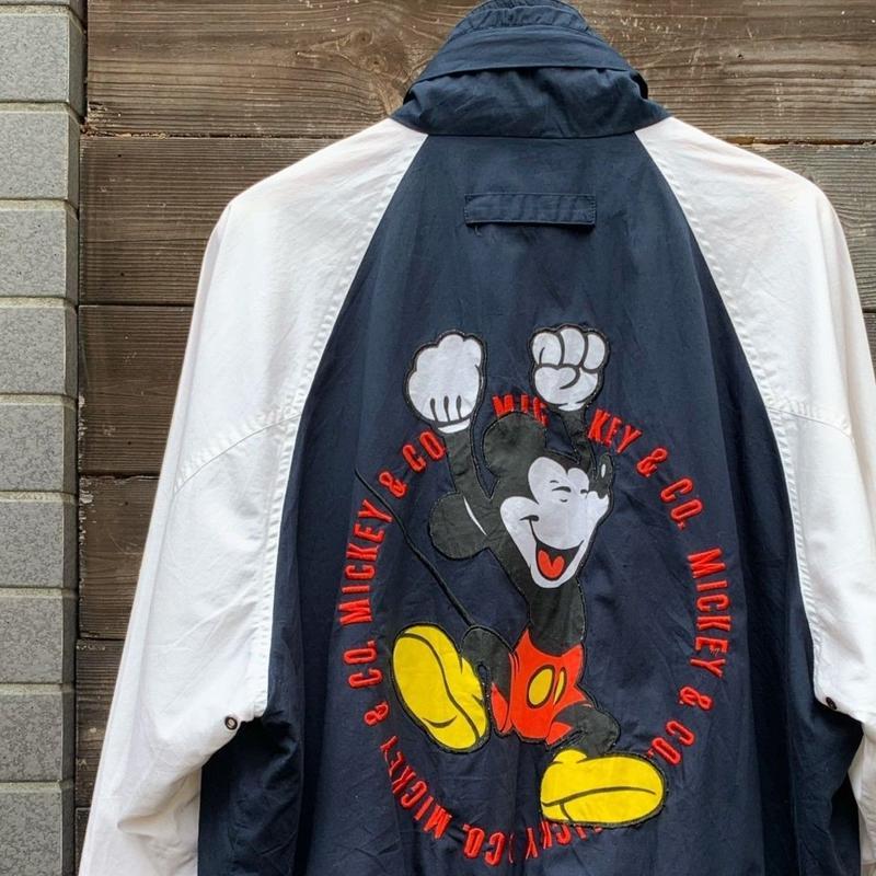 MICKEY & CO/ミッキーアンドカンパニー ドリズラージャケット 90年代 (USED)