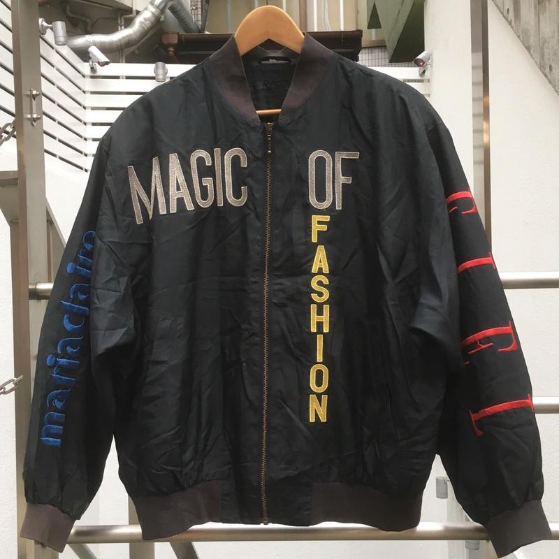 MAGIC OF FASHION/マジックオブファッション 刺繍ブルゾン 90年代 (USED)