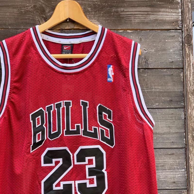 NIKE NBA BULLS/ナイキ バスケットタンクトップ BULLS JORDAN 23 2000年前後 (USED)
