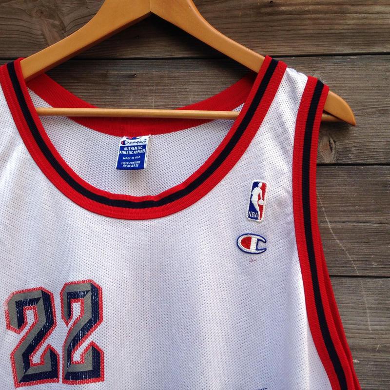 NBA HOUSTON DREXLER/エヌビーエー ヒューストンロケッツ ドレックスラー バスケタンク 90年代 (USED)