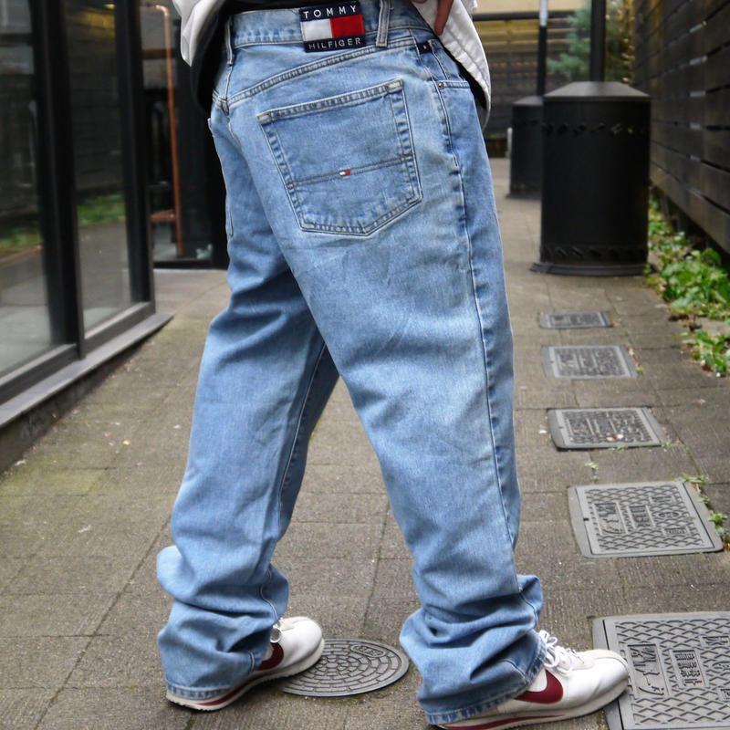 TOMMY JEANS /トミージーンズ  5ポケットジーンズ 90年代 (USED)