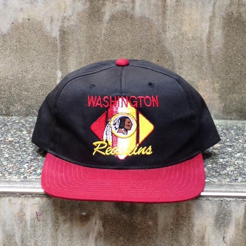 NFL WASHINGTON REDSKINS/ワシントン レッドスキンズ  スナップバックキャップ 90年代 (USED)