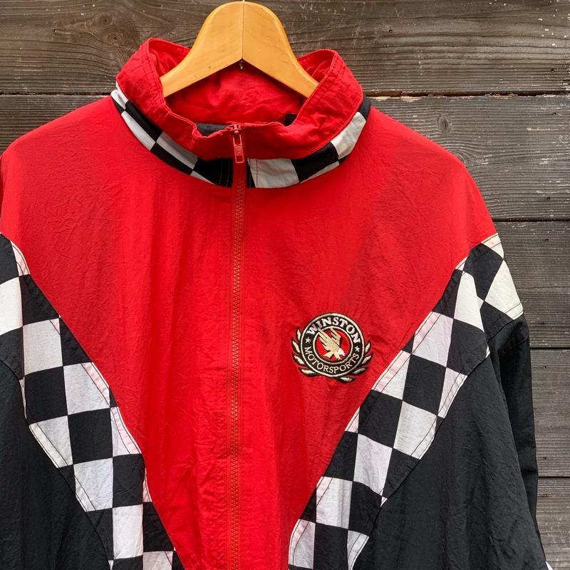 WINSTON RACINGウィンストンレーシング ナイロンジャケット 94年 (USED)