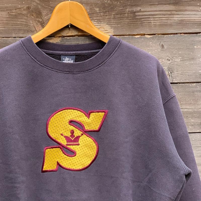STUSSY/ステューシー Sロゴスウェット 90年代 (USED)