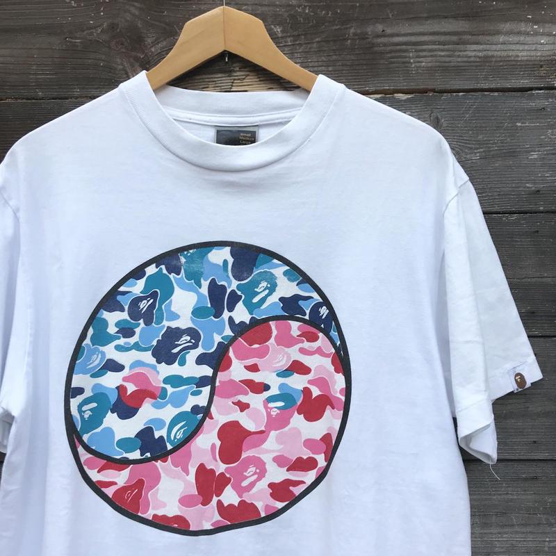 A BATHING APE/ベイシングエイプ Tシャツ 2000年前後 Made In JAPAN (USED)