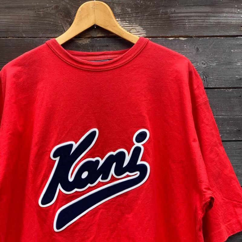 KANI JEANS/カナイジーンズ ロゴTシャツ 90年代 (USED)