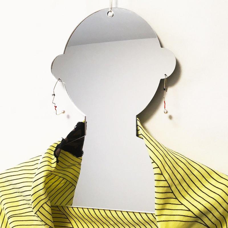Humanoid hanger 人型ハンガー/シルバーミラー