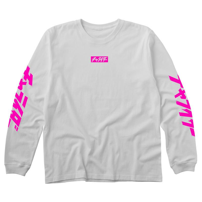 ミニボックスロゴロンティー 蛍光ピンク