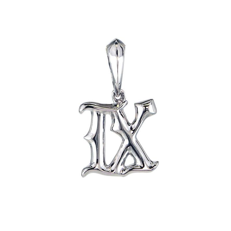 〈Amulet Number〉K10 ペンダント ナンバー【9】