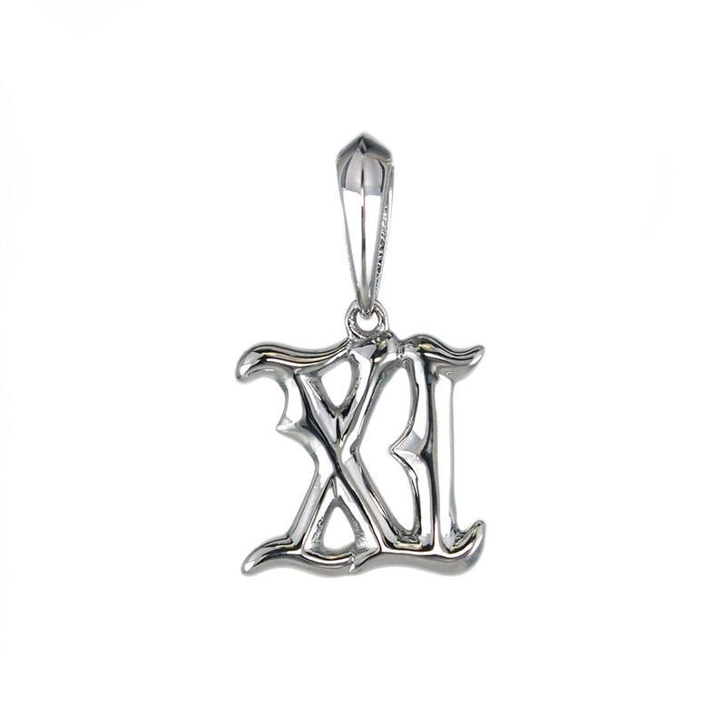〈Amulet Number〉K10 ペンダント ナンバー【11】
