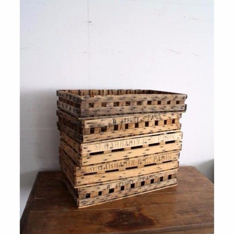【J019 フランス】ヴィンテージ木箱