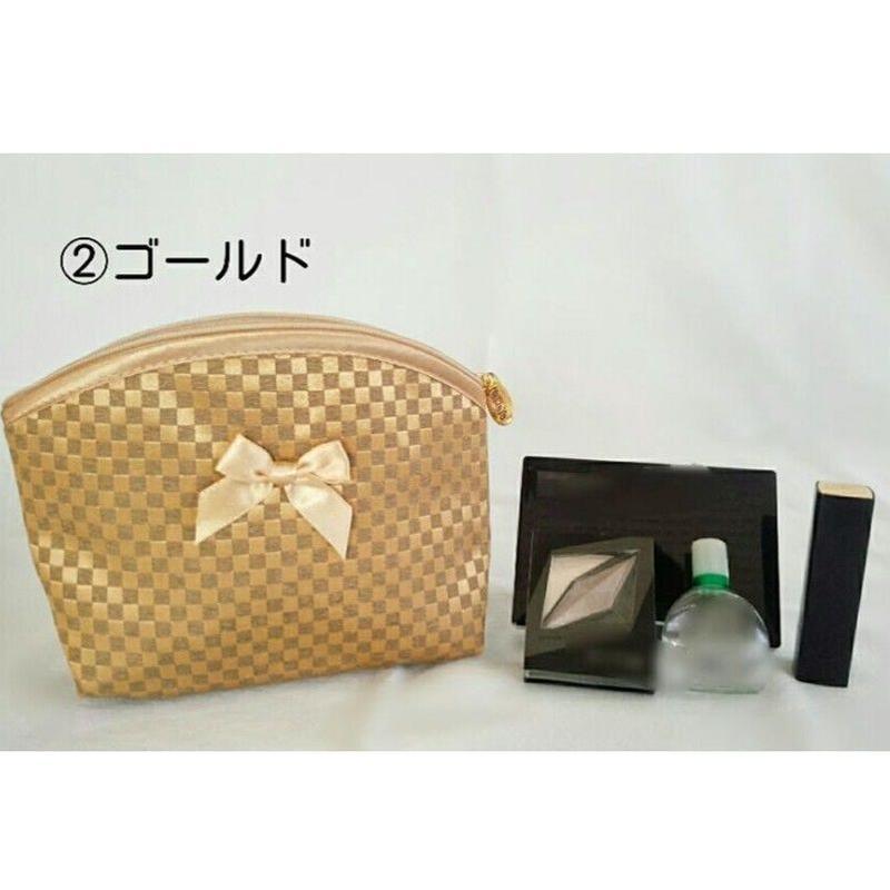 ふわふわ軽いサテンのポーチ♡NBCS-87/S
