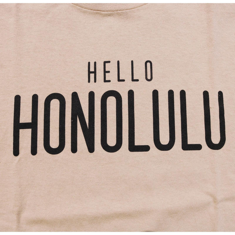 THE FILM  HELLO HONOLULU Tshirts  TSHIRTS  カーキ/ブラック