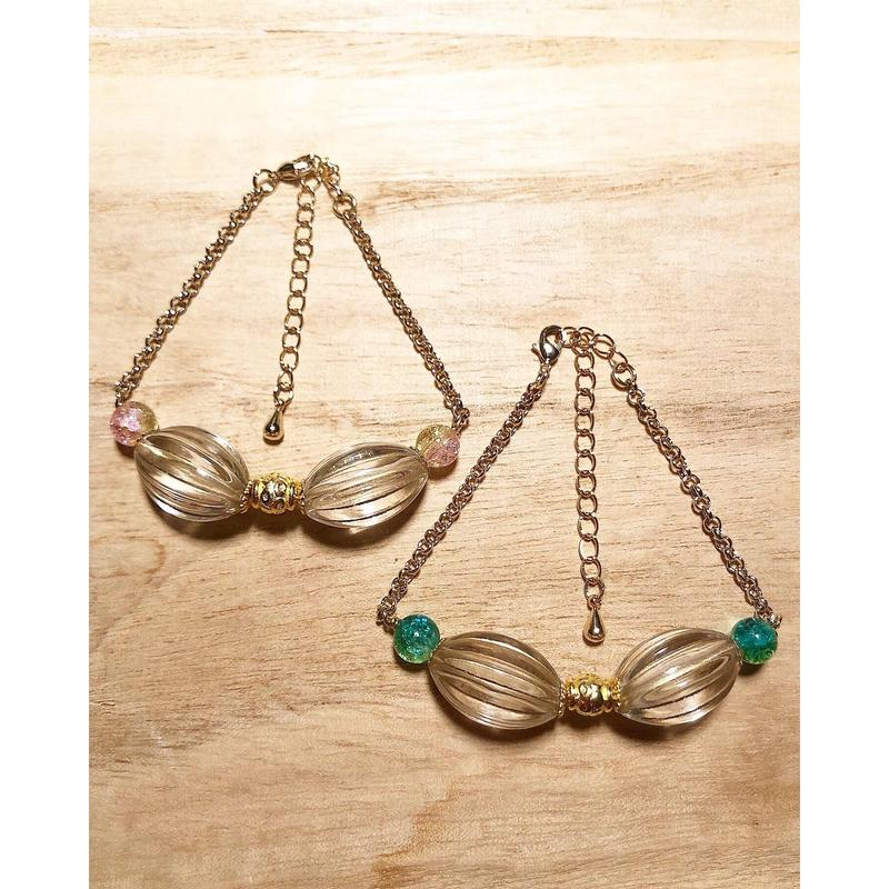 desert glass bracelet▲▼2color▼▲